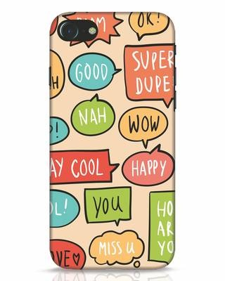 Shop Callouts iPhone 7 Mobile Cover-Front