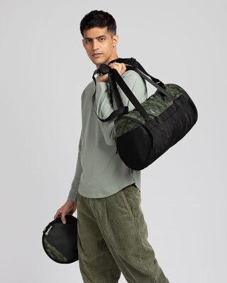 Shop Camo Duffle Bag-Front