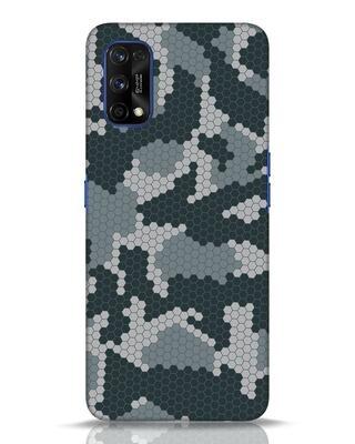 Shop Camo Honey Comb Realme 7 pro Mobile Cover-Front