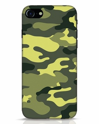 Shop Camouflage iPhone 8 Mobile Cover-Front