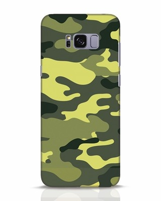 Shop Camouflage Samsung Galaxy S8 Plus Mobile Cover-Front