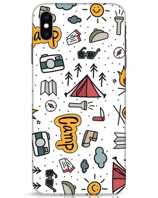 Shop Camp iPhone XS Max Mobile Cover-Front