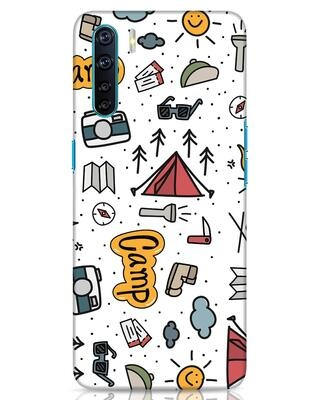 Shop Camp Oppo F15 Mobile Cover-Front