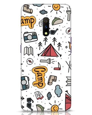 Shop Camp Realme X Mobile Cover-Front