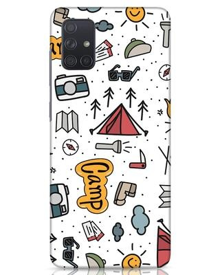 Shop Camp Samsung Galaxy A71 Mobile Cover-Front