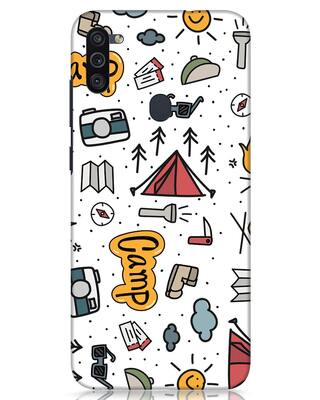 Shop Camp Samsung Galaxy M11 Mobile Cover-Front