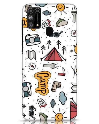 Shop Camp Samsung Galaxy M31 Mobile Cover-Front