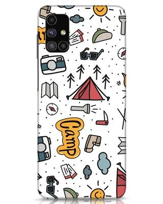 Shop Camp Samsung Galaxy M51 Mobile Cover-Front