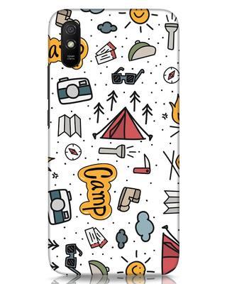 Shop Camp Xiaomi Redmi 9A Mobile Cover-Front