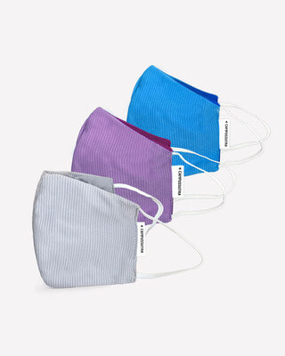 Shop Campus Sutra Anti-Microbial Fabric Mask-Front