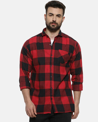 Shop Campus Sutra Casual Shirt for men-Front