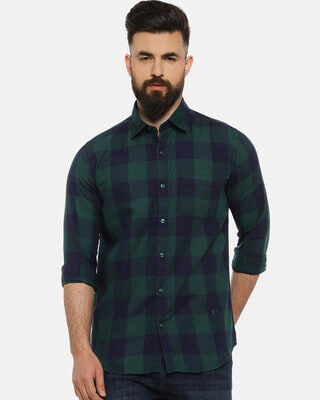 Shop Campus Sutra Men Casual Shirts-Front