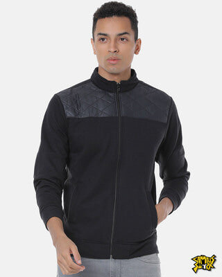 Shop Campus Sutra Men Stylish Casual Jacket-Front