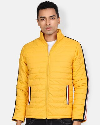 Shop Campus Sutra Men Solid Stylish Casual & Bomber Jacket-Front