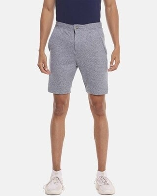Shop Campus Sutra Men Solid Stylish Sports & Evening Shorts-Front