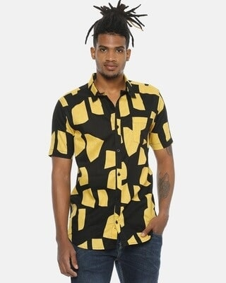 Shop Campus Sutra Men Stylish Casual Shirt-Front