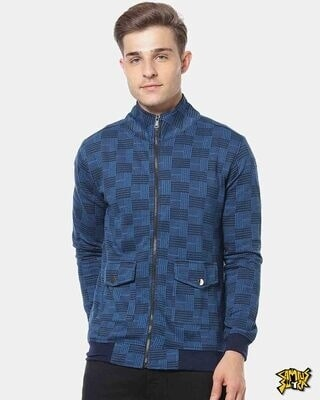 Shop Campus Sutra Men Stylish Checks Casual Jacket-Front