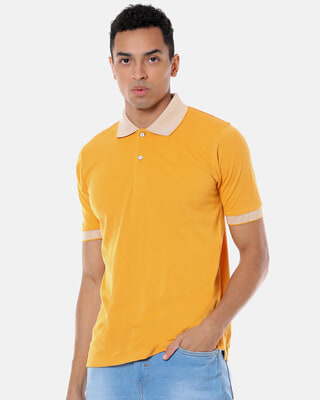 Shop Campus Sutra Men Stylish Polo Casual T-Shirt-Front