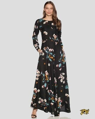 Shop Campus Sutra Women Floral Design Stylish Casual Dresses-Front