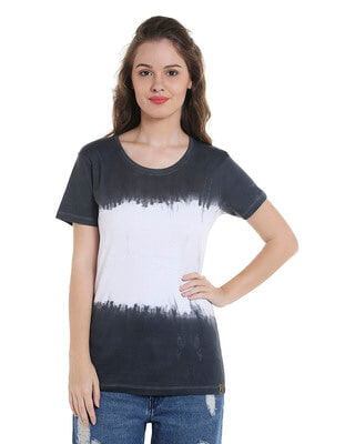 Shop Campus Sutra Women Solid Stylish Casual Top-Front