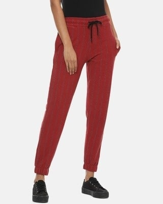 Shop Campus Sutra Women Stylish Active Joggers-Front