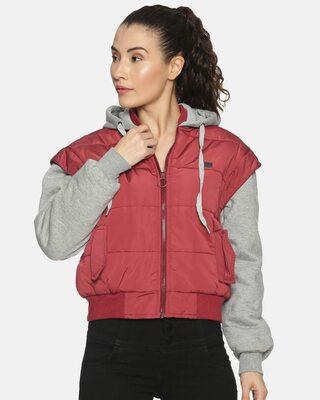 Shop Campus Sutra Women Stylish Casaul Jacket-Front
