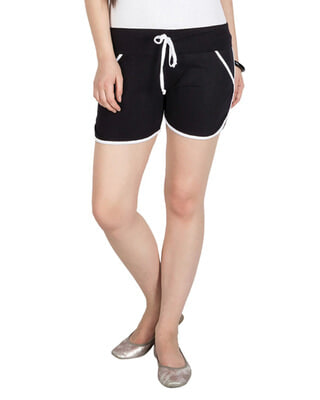 Shop Campus Sutra Women Stylish Shorts-Front