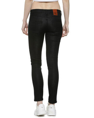 Shop Campus Sutra Women Stylish Side Striped Denim Jeans-Front