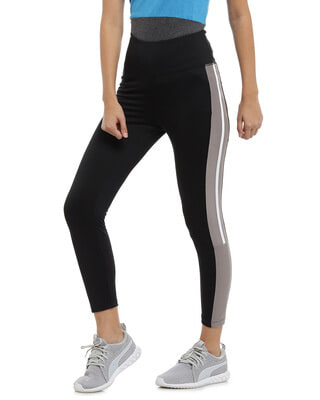 Shop Campus Sutra Women Stylish Sports Dry-Fit Tights-Front