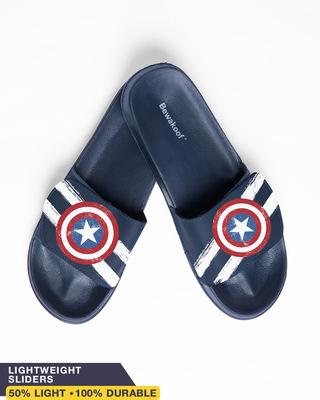 Shop Capt. America Lightweight Adjustable Strap Men Slider-Front