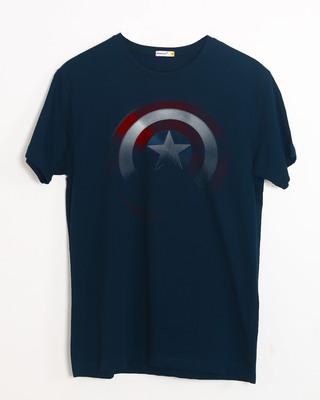 Buy Captain America Shadows Half Sleeve T-Shirt (AVL) Online India @ Bewakoof.com