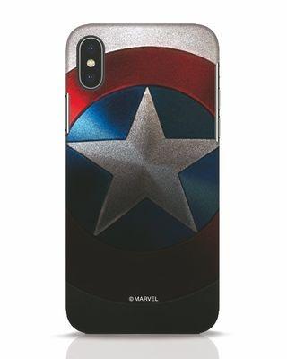 Shop Captain iPhone X Mobile Cover-Front
