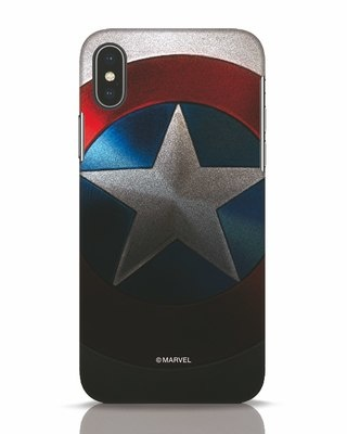 Shop Captain iPhone X Mobile Cover-Front