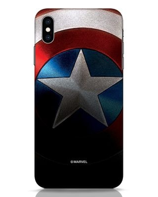Shop Captain iPhone XS Max Mobile Cover-Front