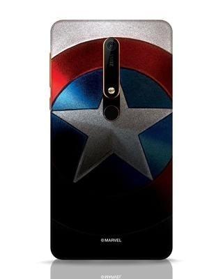 Shop Captain Nokia 6.1 Mobile Cover-Front