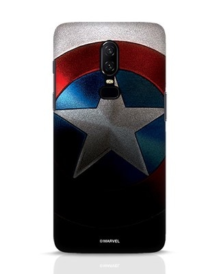 Shop Captain OnePlus 6 Mobile Cover-Front