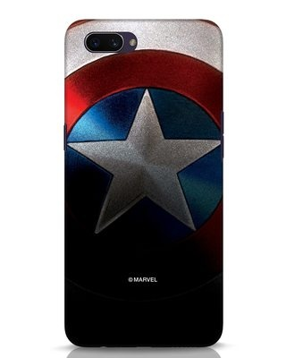 Shop Captain Oppo A3S Mobile Cover-Front