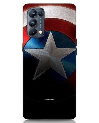Shop Captain Oppo Reno 5 Pro Mobile Cover-Front