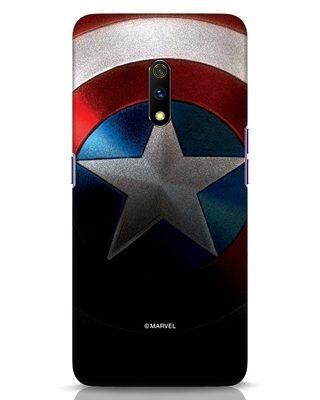 Shop Captain Realme X Mobile Cover-Front