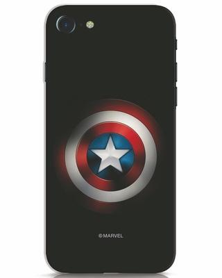 Shop Captain's Shield iPhone 7 Mobile Cover (AVL)-Front