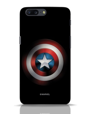 Shop Captain's Shield OnePlus 5 Mobile Cover (AVL)-Front