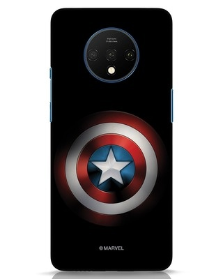 Shop Captain's Shield OnePlus 7T Mobile Cover (AVL)-Front