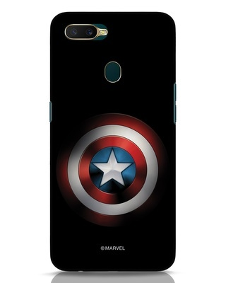 Shop Captain's Shield Oppo A7 Mobile Cover (AVL)-Front