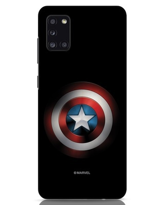Shop Captain's Shield Samsung Galaxy A31 Mobile Cover (AVL)-Front