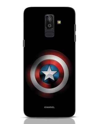 Shop Captain's Shield Samsung Galaxy J8 Mobile Cover (AVL)-Front