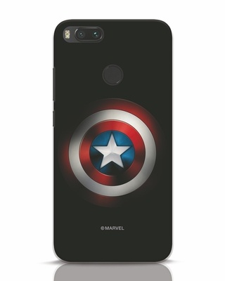 Shop Captain's Shield Xiaomi Mi A1 Mobile Cover (AVL)-Front