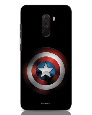 Shop Captain's Shield Xiaomi POCO F1 Mobile Cover (AVL)-Front
