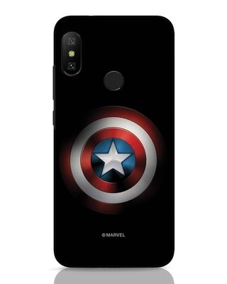 Shop Captain's Shield Xiaomi Redmi 6 Pro Mobile Cover (AVL)-Front