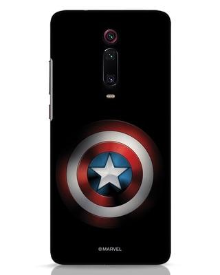 Shop Captain's Shield Xiaomi Redmi K20 Pro Mobile Cover (AVL)-Front