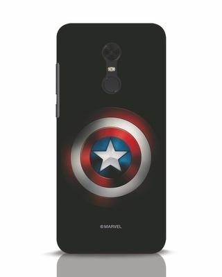 Shop Captain's Shield Xiaomi Redmi Note 5 Mobile Cover (AVL)-Front
